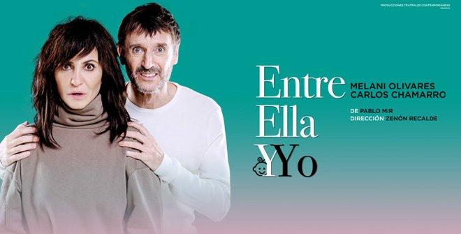 ENTREVISTA A MELANI OLIVARES Y CARLOS CHAPARRO «ENTRE ELLA Y YO»
