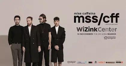 Miss Caffeina fin de gira en el WiZink Center Madrid