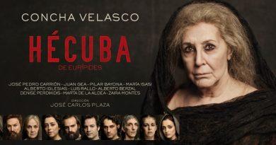 #PantallaPentación termina sus emisiones online con la 'Hécuba' de Concha Velasco