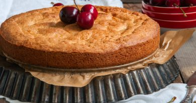 pastel vasco ligero y sin lactosa
