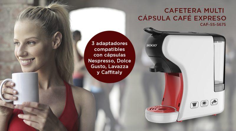 UNBOXING Y PRUEBA CAFETERA MULTI CÁPSULAS SOGO SS 5675