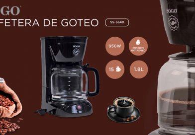 UNBOXING Y PRUEBA DE CAFETERA DE GOTEO SOGO SS 5640